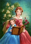 Yes; she might have passed when Belle was a little older.