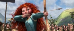 Merida's ripped competition dress
