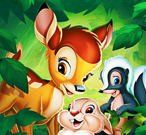 ☆ Battle of the disney cine - Bambi vs  Bambi 2  Vote for your