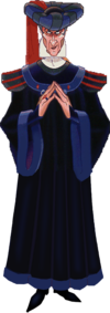 Judge Claude Frollo (The Hunchback Of Notre Dame) as Judge Turpin