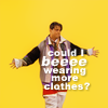 """joey ▶ """"could i BE wearing any plus clothes?"""""""