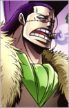 9. cocodrilo (One Piece)