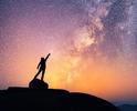 ☚ observing the night sky [Kraucik83]