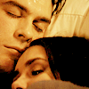 25;; damon & elena [the vampire diaries]