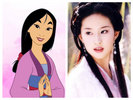 No, she doesn't look suitable for Mulan.