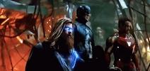 Thor/Cap/Iron Man vs Thanos fight