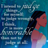 I intend to judge things for myself; to judge wrongly, I think, is more...
