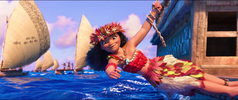 Moana's finale outfit