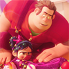 friendship ➤ ralph and vanellope ;; wreck-it ralph