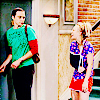 ➸ sheldon helps penny when she dislocates her shoulder (3x08)
