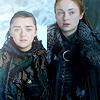 Arya & Sansa (Game of Thrones)