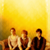 group --> golden trio ;; harry potter