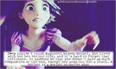 Deep inside I think Rapunzel misses Gothel. She lived with her her entire life-