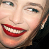 Emilia Clarke as Katherine Pierce