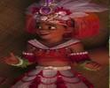Moana's chief dress