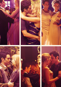 Blake Lively and Penn Badgley who played onscreen couple Serena and Dan dated from 2007 to 2010. true or  false