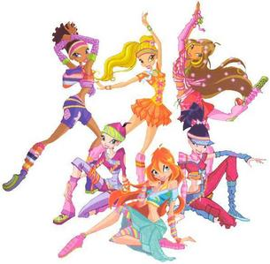 in episode 25 of season 5 what was the winx doing to get there ballet shoes?