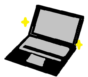 Who does this cutie mark belong to?  Hint: There is more than one character with a laptop-theme but are very different