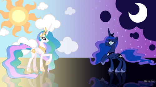 T/F: Princess Celestia is Princess Luna bigger sister?