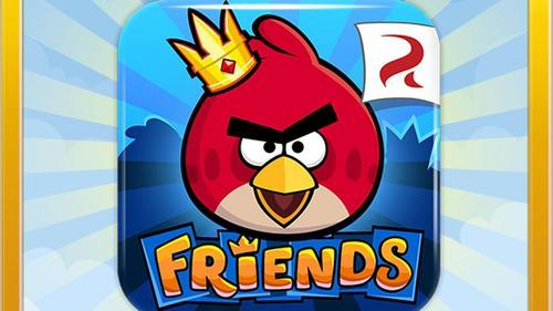 When was Angry Birds friends released ?