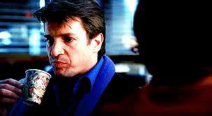 What did Castle say the precinct coffee tasted like?