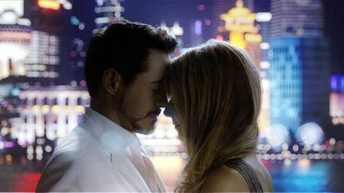 Tony: 'weird'. / Pepper: 'no, its not weird'. What are they talking about?
