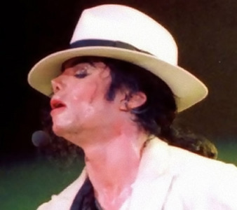 "This is a live performance of ""Smooth Criminal"""