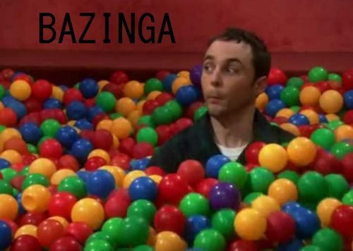 "From whom does the word ""Bazinga!"" originate?"