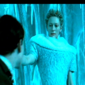 What did Jadis say to Edmund sitting on her throne?
