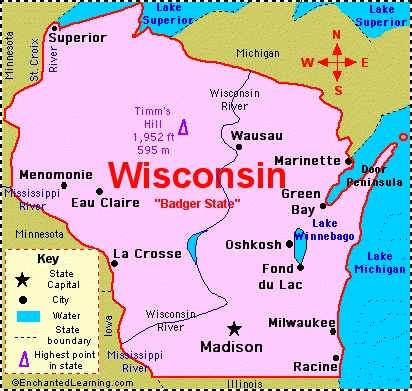 Which main cast member was actually born in Wisconsin?