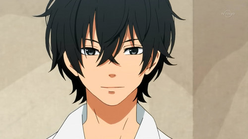(T/F)  When Shizuku confesses her love for him, he initially rejects her.