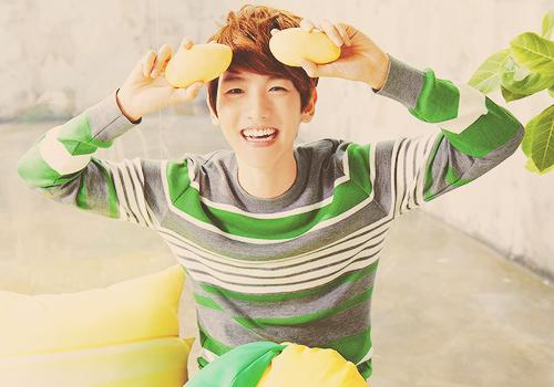 which snsd member do baekhyun like most