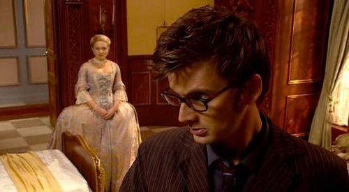 "In ""The Girl In The Fireplace"" how old was Reinette when the Doctor first met her?"