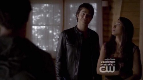 In TVD 4x09 Damon told Jeremy to find someone else to attach Jeremy's warm and fuzzy detour feelings to.Damon talked about...