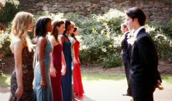 "4x07 ""My Brother's Keeper"", True or False. April is the new Miss Mystic Falls."