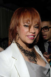 Faith Evans was married to rapper, Notorious B.I.G.