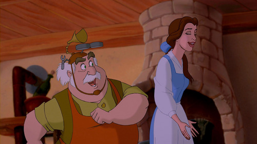 "MAURICE: ""You really believe that?"" BELLE: ""______________________"""