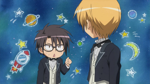 Why does Misaki says that Usui is an alien?