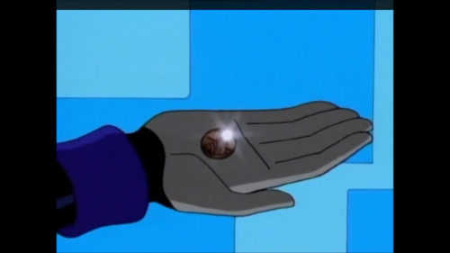 In what episode does Beast boy give Raven a penny?