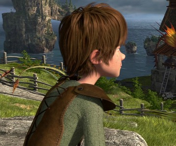What color eyes does Hiccup have?