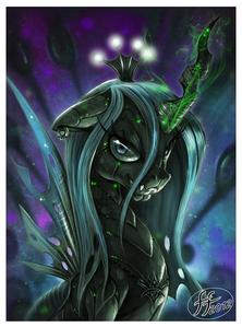 Who voices Chrysalis?