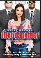 "Which سٹار, ستارہ of Buffy The Vampire Slayer appeared in the Katie Holmes movie ""First Daughter?"""