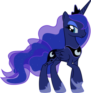 In Nightmare Night, what quote did Luna say?