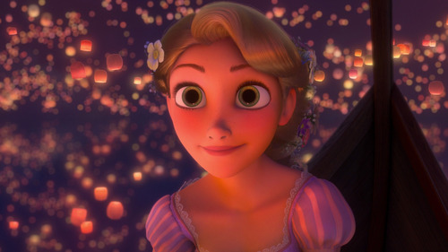T/F: Rapunzel has the biggest eyes among the other ディズニー Princesses. (until 2012)