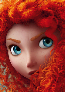 Merida is the ______ Disney Princess with blue eyes.