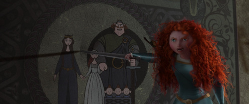 """Merida is the ______ princess to have some form of a """"rebellious princess syndrome""""."""