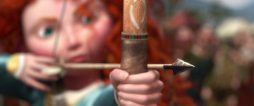 Merida is the _______ 디즈니 Princess to be trained with a bow and arrow.