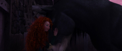 Merida is the ______ princess to have a horse companion.