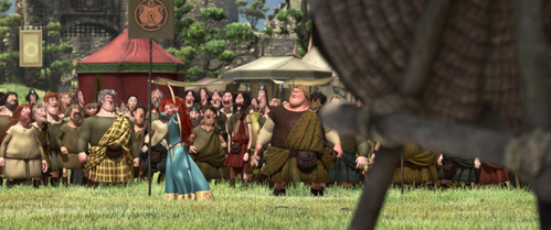 Merida is the _______ main character to have a talent for archery and compete in archery tournaments.