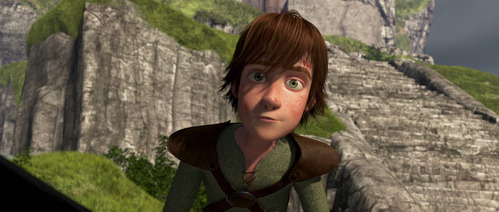 What is the name of the actor that voices Hiccup?